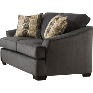 Simmons Upholstery Athena Outlaw Loveseat by..