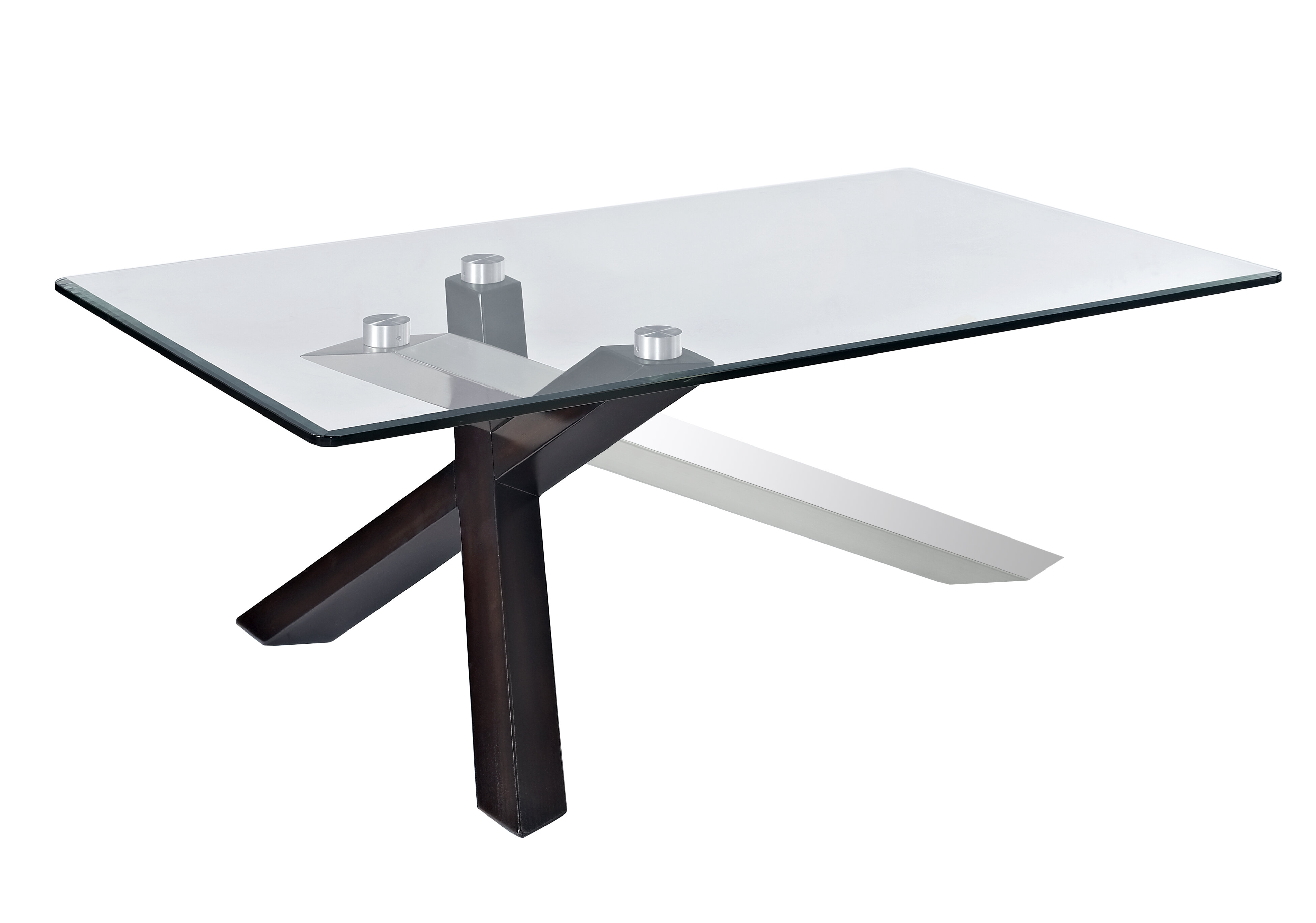 - Magnussen Verge Cross Legs Coffee Table Wayfair