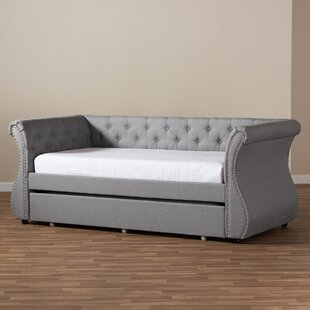 Lanning Twin Daybed with Trundle by Alcott Hill