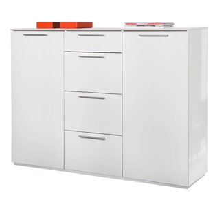 Semplice 4 Drawer Combi Chest By Wade Logan