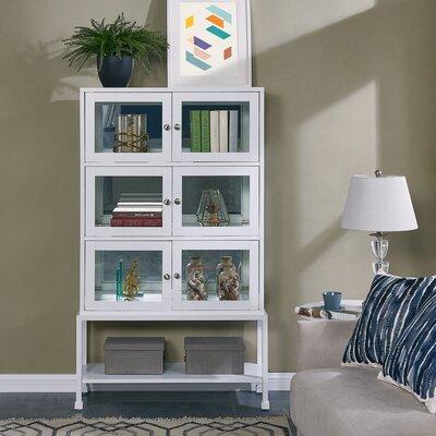 Pantin Lighted Curio Cabinet