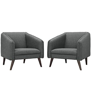 Slide Armchair (Set of 2) by Modway