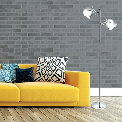 """Nell 61"""" Torchiere Floor Lamp"""