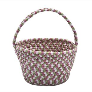 Compare prices Lily Fabric Basket ByAlcott Hill