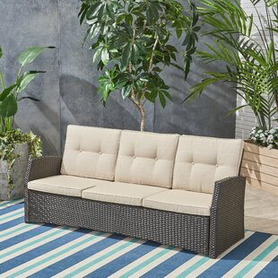 Sumfleth Patio Sofa with Cushions