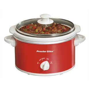 1.5 Qt. Proctor Silex Portable Oval Slow Cooker by Gibson Home Comparison