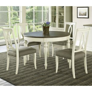 Lattimore 5 Piece Dining Set by Rosecliff..