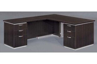 Pimlico 72 W L-Shape Executive Desk