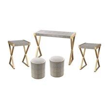 Sanford 5 Piece Coffee Table Set by Willa Arlo Interiors