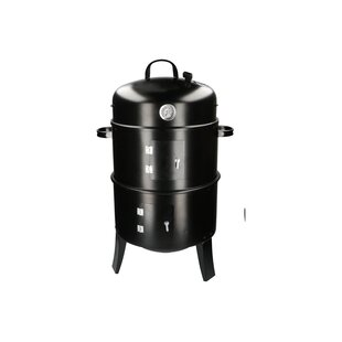 50cm Charcoal Barbecue With Adjustable Air Vent, Thermostat & Barbecue Grids By Symple Stuff