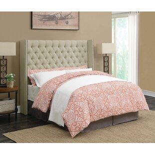 Upholstered Panel Bed by Scott Living