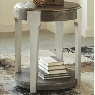 Lorenz End Table by Wrought St..