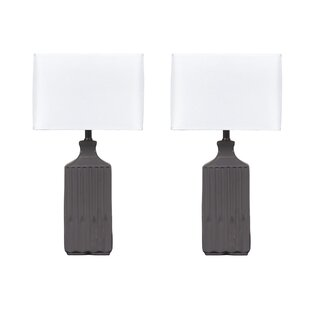 Signature Design by Ashley Patience Table and Floor Lamp Set (Set of 2)