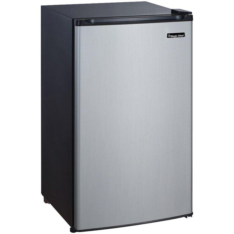 compact fridge with freezer