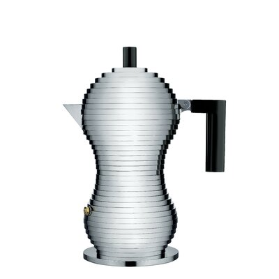 Alessi  Pulcina Coffee Maker  Color: Black, Size: 48 oz.