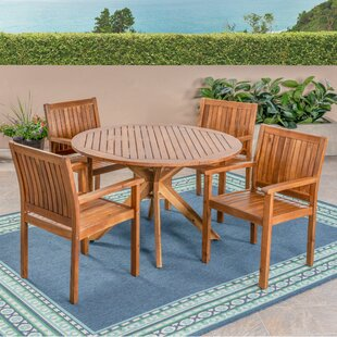 Bolebroke 5 Pieces in Set Teak Dining Set