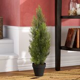Artificial Mini Cedar Pine Foliage Tree in Pot