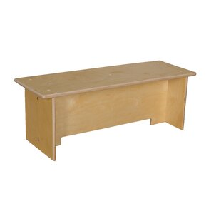 Wood Designs Contender Toddler Wood Bench