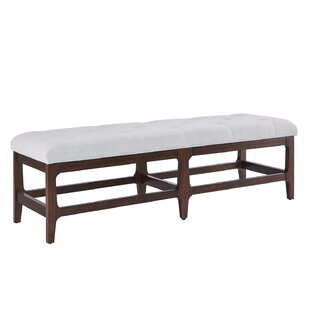 Kya Upholstered Bench by Alcott Hill