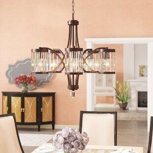 Willa Arlo Interiors Westlake 5-Light Shaded Chandelier