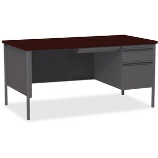 Fortress Right Pedestal Desk by Lorell Sale