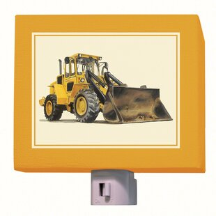 Oopsy Daisy Bulldozer Night Light