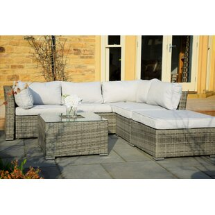 Overbay 4 Piece Sectional Seating Group with Cushions