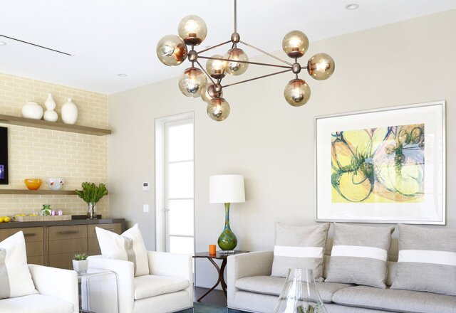 10 modern chandeliers that shine bright allmodern an outdoor table setting aloadofball Gallery
