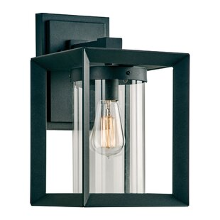 Gracie Oaks Pastor LED Outdoor Sconce