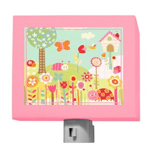 Oopsy Daisy Pretty Ladybugs Night Light