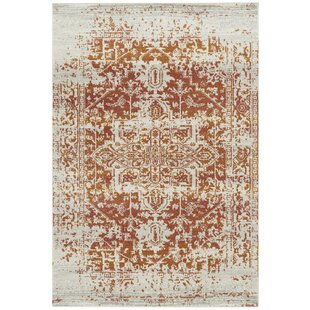 Falgout Antique Orange Rug by World Menagerie
