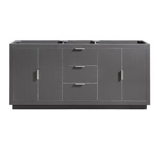 Finck 72 Double Bathroom Vanity Base by Everly Quinn