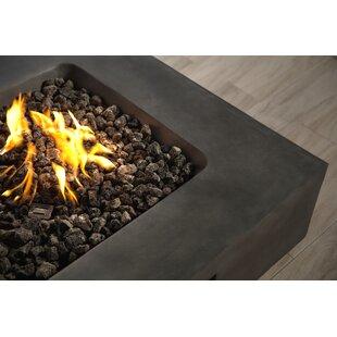 Orren Ellis Defino Fire Pit 3 Piece Conversation Set