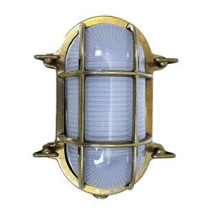 Farah Oval Outdoor Bulkhead Light