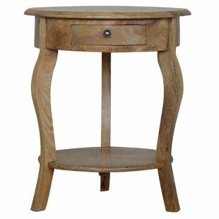 Dark Mango Wood Side Table Wayfaircouk