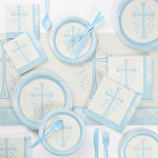 Holloman Paper/Plastic Disposable Party Supplies Kit