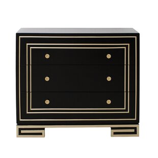 Great Price Mong 3 Drawer Accent Chest By Everly Quinn