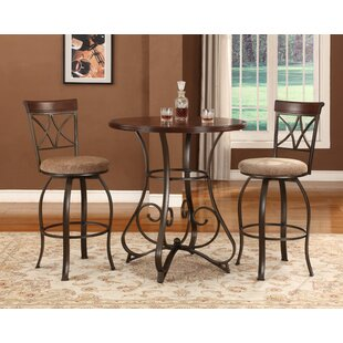 Coan 3 Piece Pub Table Set by Winston Porter