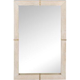 Gracie Oaks Mcgee Rectangular Framed Wall Mirror