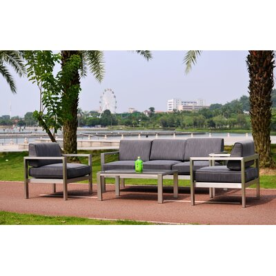 Kq Maui Deluxe 4 Piece Deep Seating