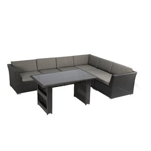 Rattan Lounge DIning with Cushions
