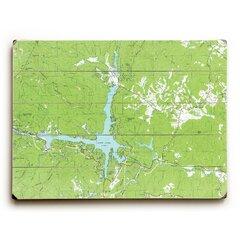 Green Nautical Map Wall Art You Ll Love In 2021 Wayfair