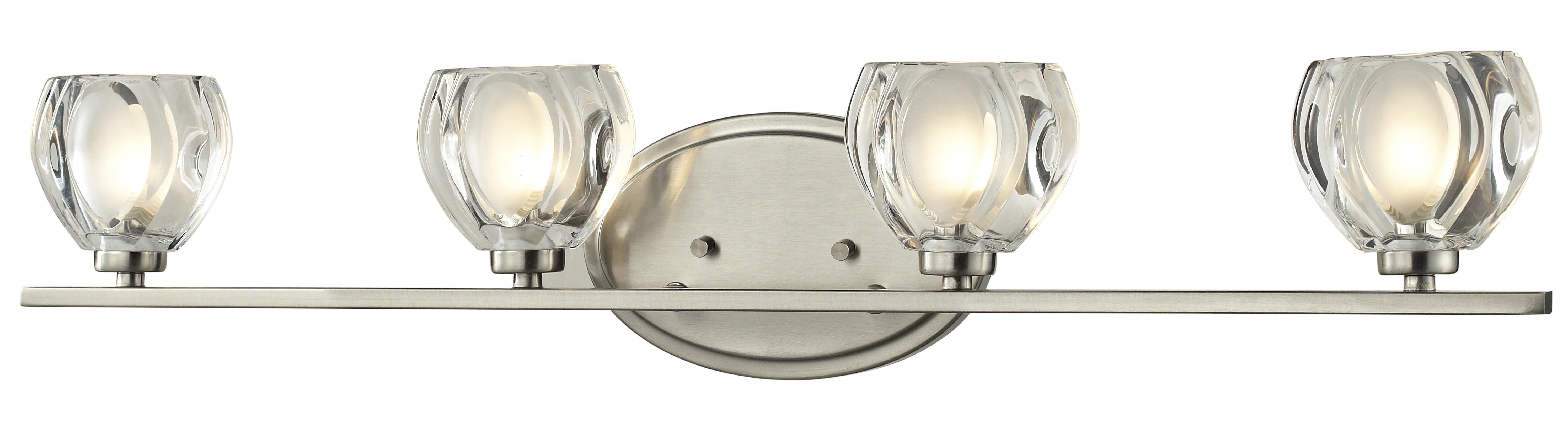 Winston Porter Temara 4 Light Vanity Light Reviews Wayfair Ca