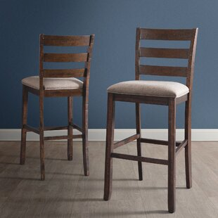 Ismay Ladder Back 30 Bar Stool (Set of 2) Three Posts