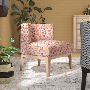 Mistana Ofelia Ikat Low Back Barrel Chair