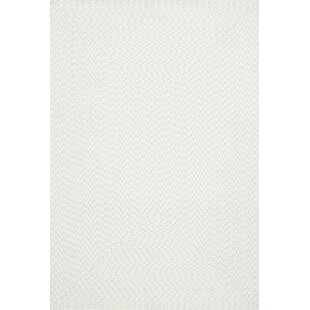 Check Prices Daniell Hand-Woven Ivory Indoor/Outdoor Area Rug By Wrought Studio