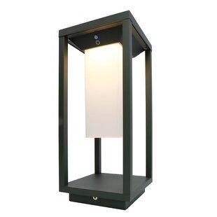 Samas 1 Light LED Pedestal Lantern By Kapego LED