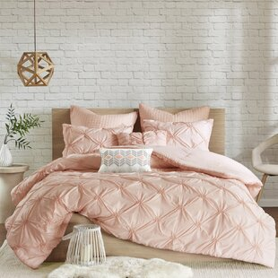 Siaosi Embroidered 7 Piece Comforter Set