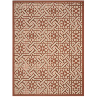 Triumph Cayenne Red/Beige Indoor/Outdoor Area Rug
