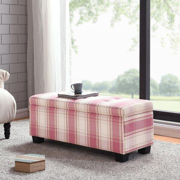 Remarkable Callista Plaid Tufted Storage Ottoman Machost Co Dining Chair Design Ideas Machostcouk